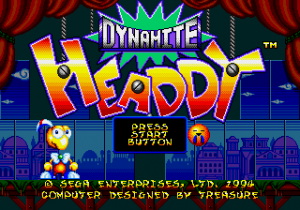 Dynamiteheaddy press start