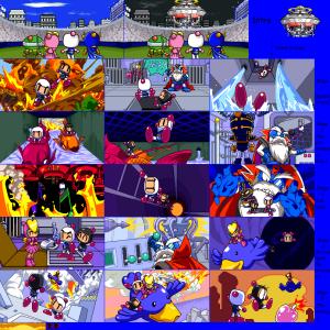 Neo-Bomberman Scenes