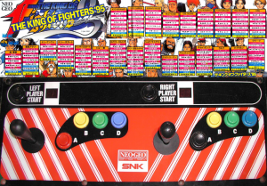 kof95 recreativa control