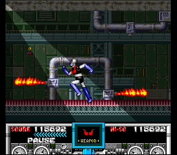 461766-mazinger-z-snes-screenshot-the-hallways-of-gool-are-filled