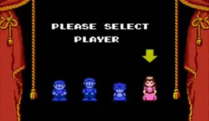 supermariobros2 select player