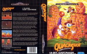 caratula Quackshot [EUR]