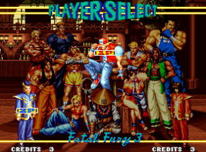 FATAL FURY 3 ROAD TO THE FINAL VICTORY
