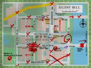 mapa silent hill