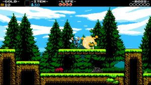 shovel-knight bosque
